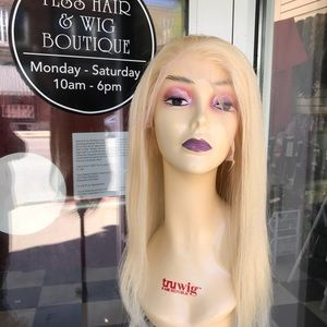 Accessories - Wig blonde 613 human hair fulllace wig 12 inch